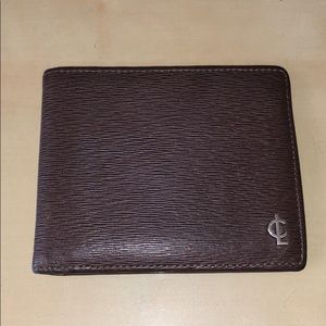 Used Authentic coach leather wallet